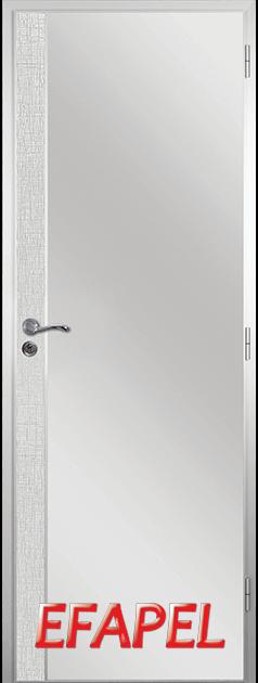 Алуминиева врата от серия Ефапел - цвят Лен