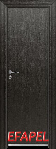 Алуминиева врата Ефапел - цвят Черна мура