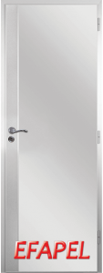 Алуминиева врата Ефапел - Метал