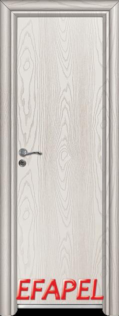 Алуминиева врата Ефапел - цвят Бяла мура