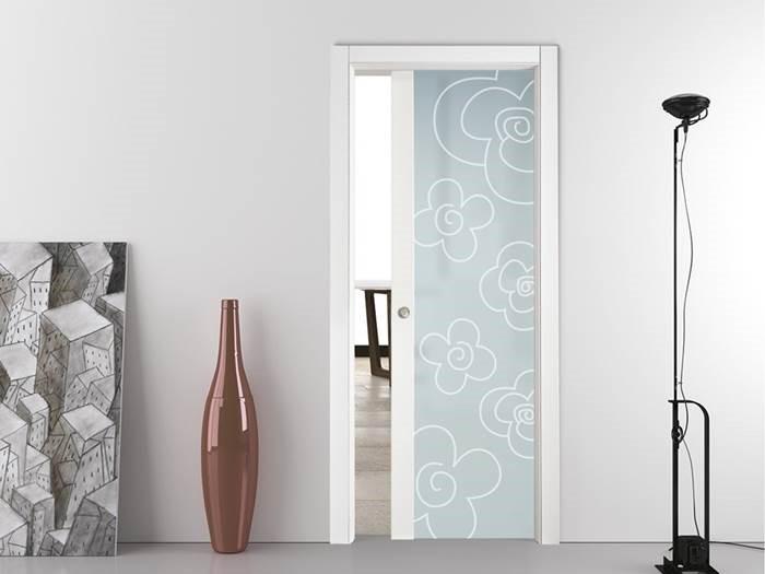 Стъкло за декорирани интериорни врати